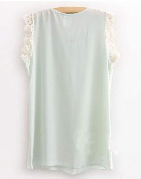 Блузка с круглым воротником доставка