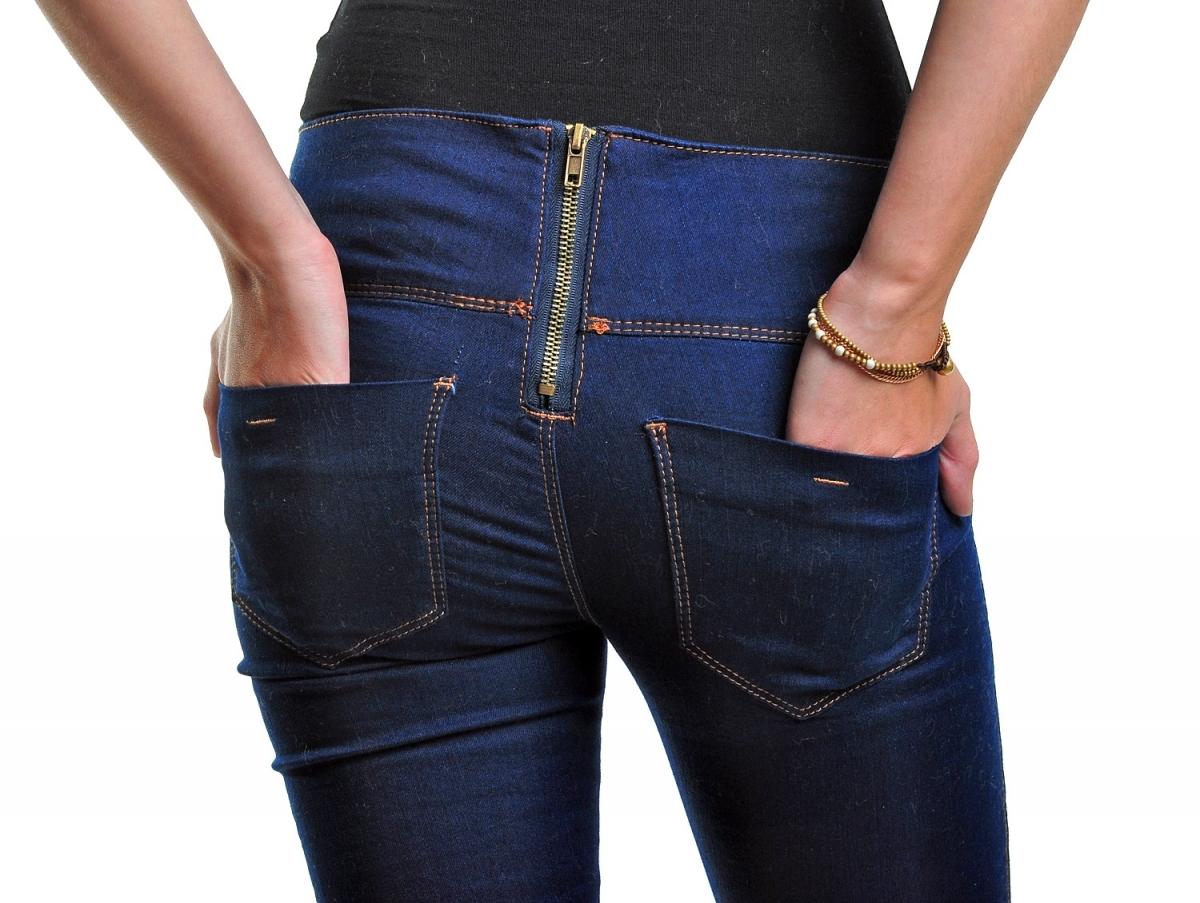 Как завысить талию на джинсах с низкой посадкой своими руками 59