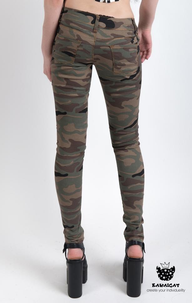 Камуфляжные джинсы доставка