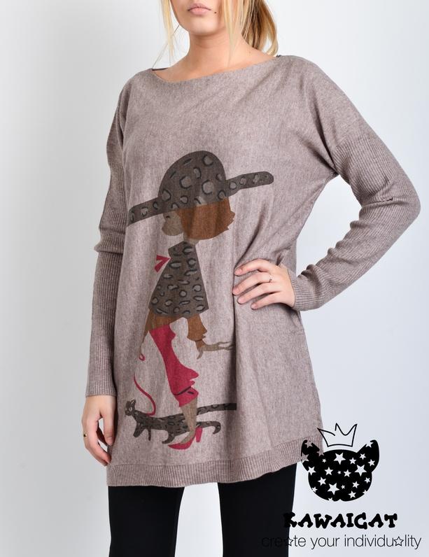 Свободный Пуловер С Доставкой