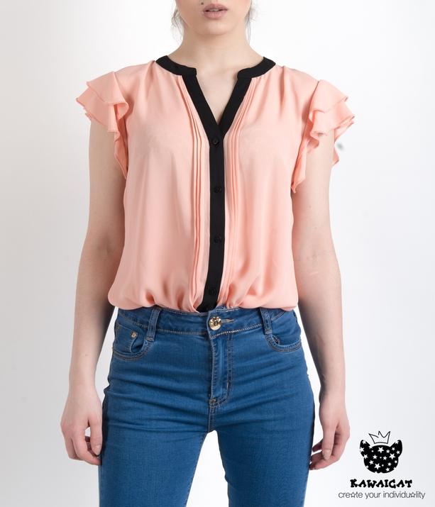 Блузка с крылышками фото