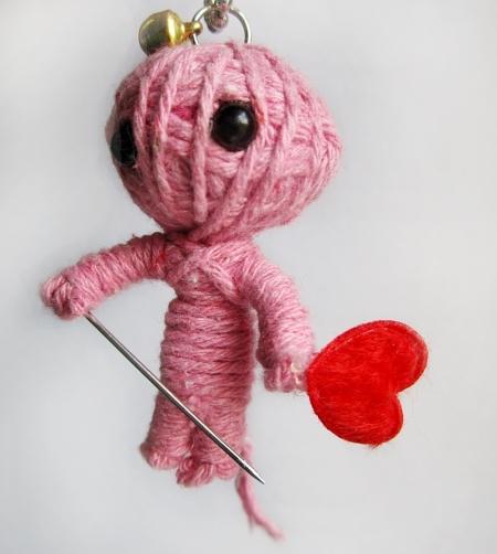 Кукла вуду как сделать на любовь