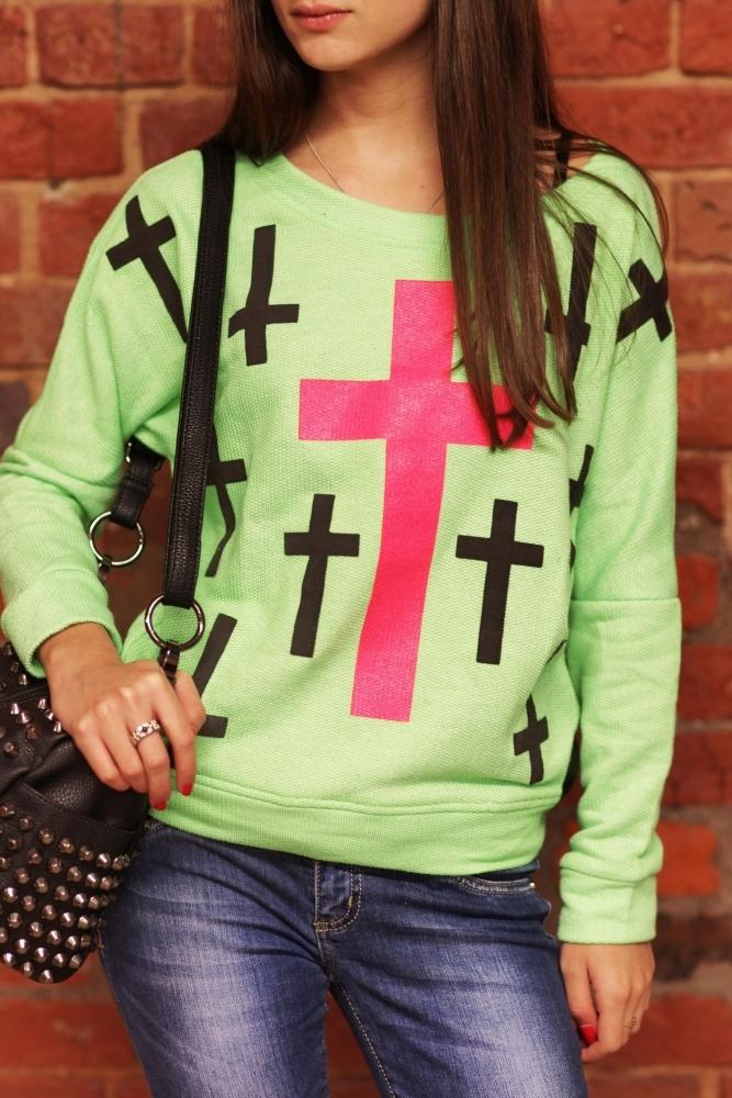 Кофта С Крестом