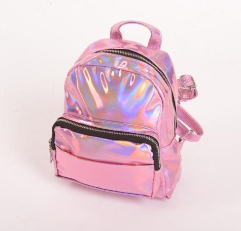 0bccac05eca2 Рюкзак мини с голографическим эффектом розовый купить за 1199 руб. в  интернет-магазине kawaicat.ru